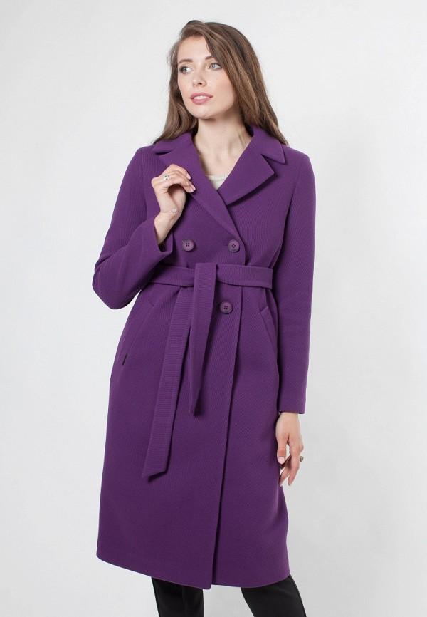 Купить Пальто Shartrez, mp002xw19ee7, фиолетовый, Осень-зима 2018/2019