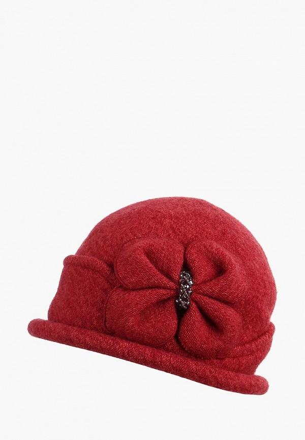 женская шляпа di lana, бордовая