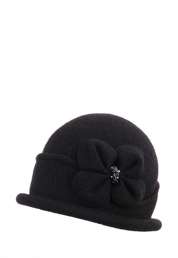 женская шляпа di lana, черная