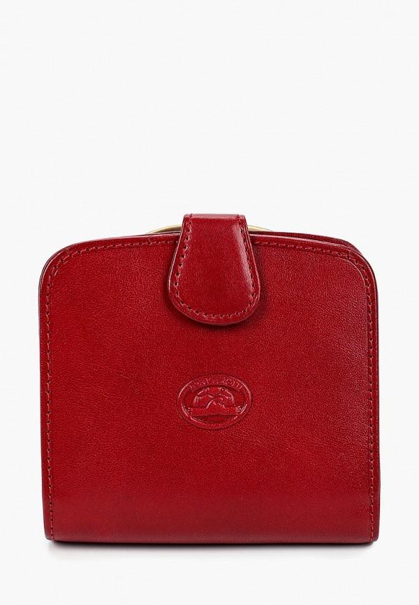 женский кошелёк tony perotti, красный