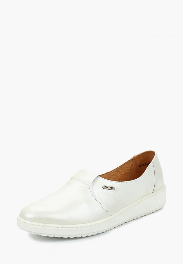 женские туфли romer, белые