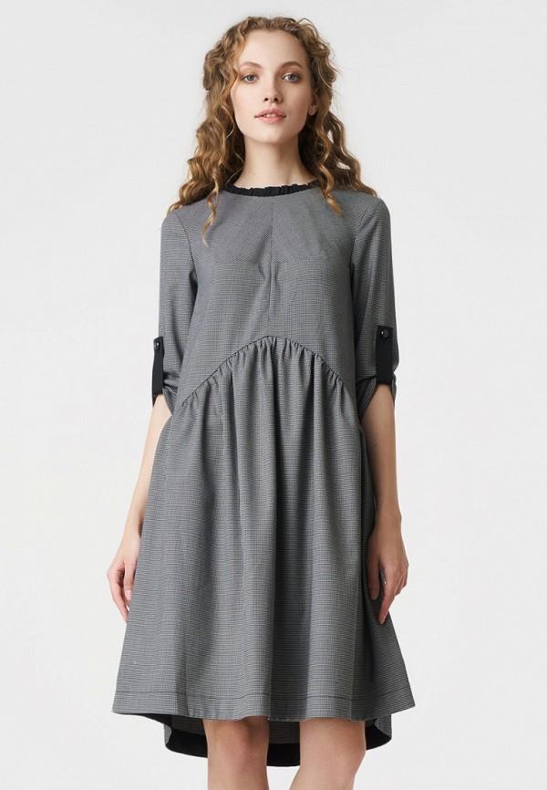 Купить Платье RicaMare, MP002XW19FF0, серый, Осень-зима 2018/2019