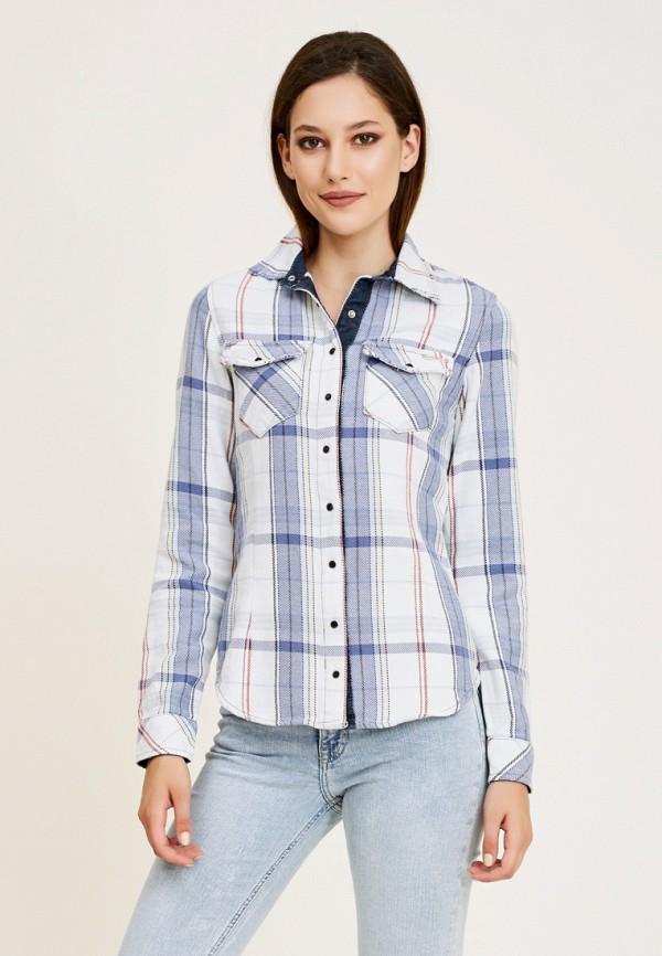женская рубашка с длинным рукавом dshe, белая