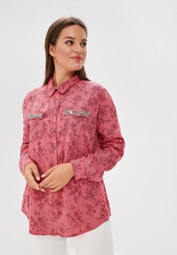 Рубашка DSHE цвет розовый