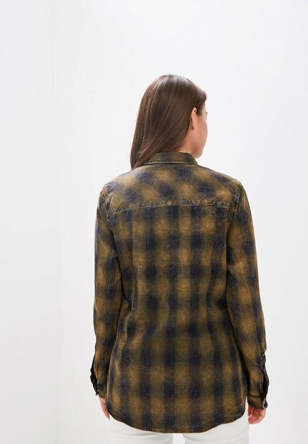 Рубашка DSHE цвет хаки  Фото 3