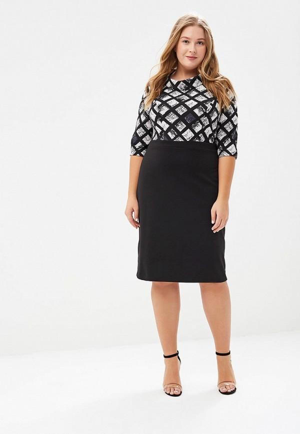 женское повседневные платье forus, черное