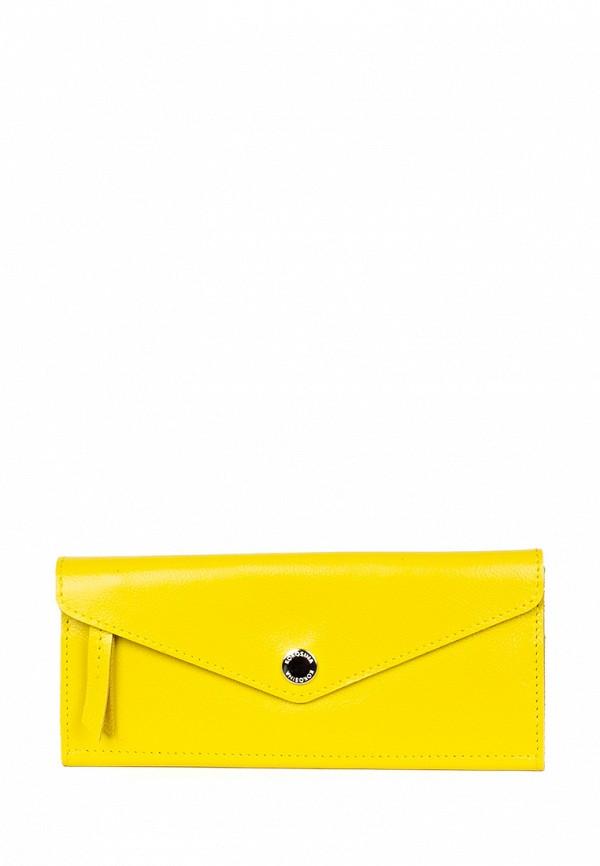 женский кошелёк kokosina, желтый