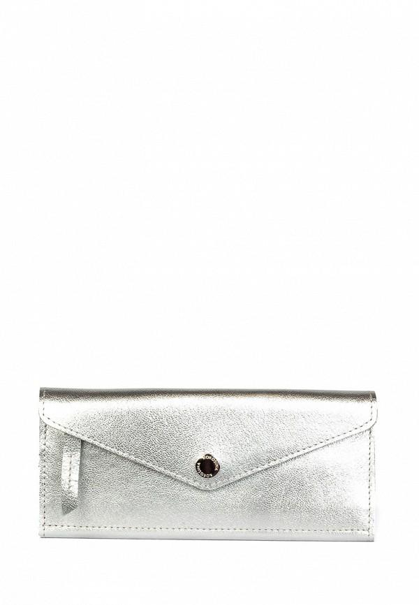 женский кошелёк kokosina, серебряный