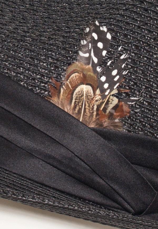 Фото 4 - женскую шляпу Anna Bask черного цвета
