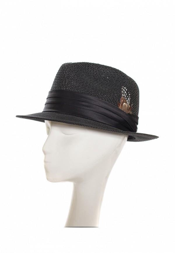 Фото 2 - женскую шляпу Anna Bask черного цвета