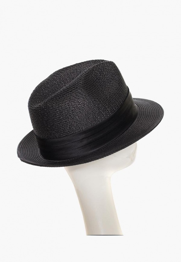 Фото 7 - женскую шляпу Anna Bask черного цвета