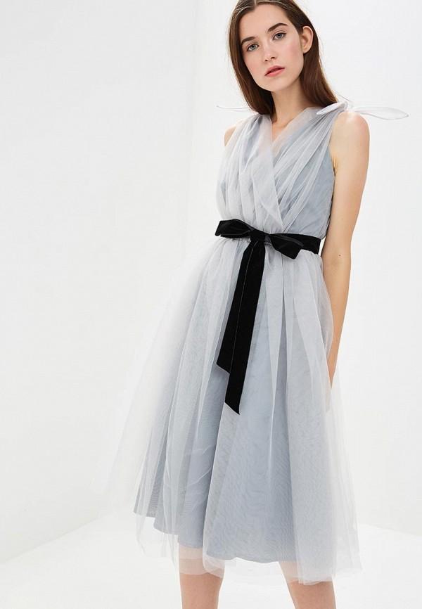 Купить Платье Olga Skazkina, MP002XW19GB1, серый, Осень-зима 2018/2019
