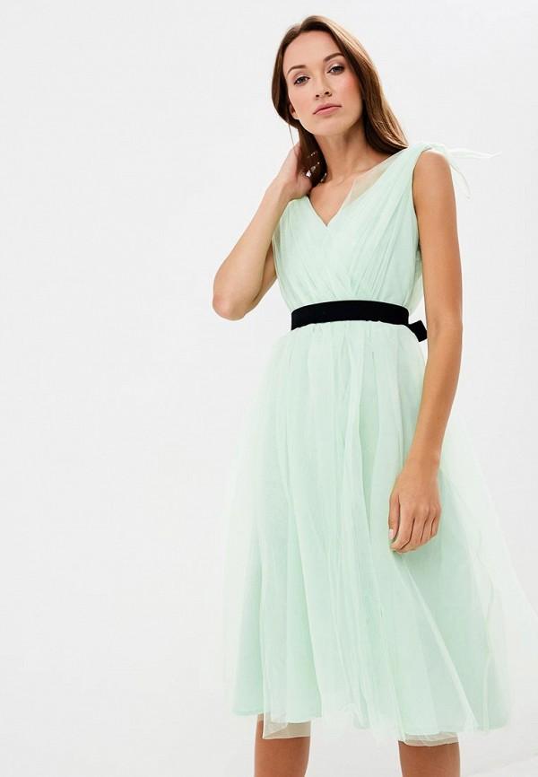 Купить Платье Olga Skazkina, MP002XW19GB4, бирюзовый, Осень-зима 2018/2019
