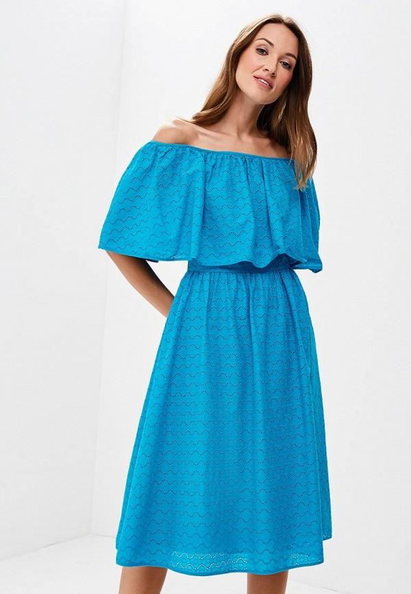 Купить Платье Olga Skazkina, MP002XW19GB5, бирюзовый, Осень-зима 2018/2019