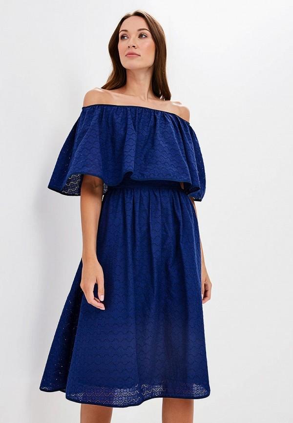 Купить Платье Olga Skazkina, MP002XW19GB6, синий, Осень-зима 2018/2019