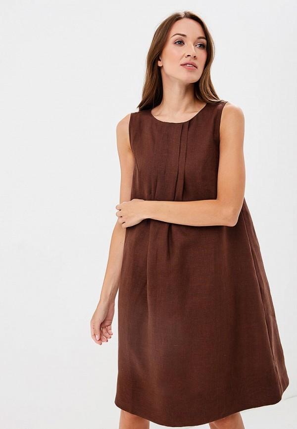 Купить Платье Olga Skazkina, MP002XW19GBH, коричневый, Осень-зима 2018/2019