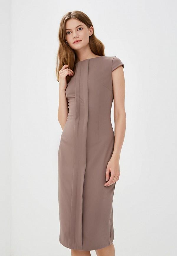 Купить Платье Olga Skazkina, MP002XW19GBK, коричневый, Осень-зима 2018/2019