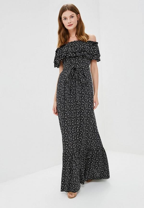 женское повседневные платье olga skazkina, черное