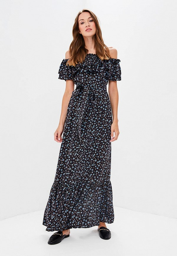 Купить Платье Olga Skazkina, MP002XW19GBP, черный, Осень-зима 2018/2019