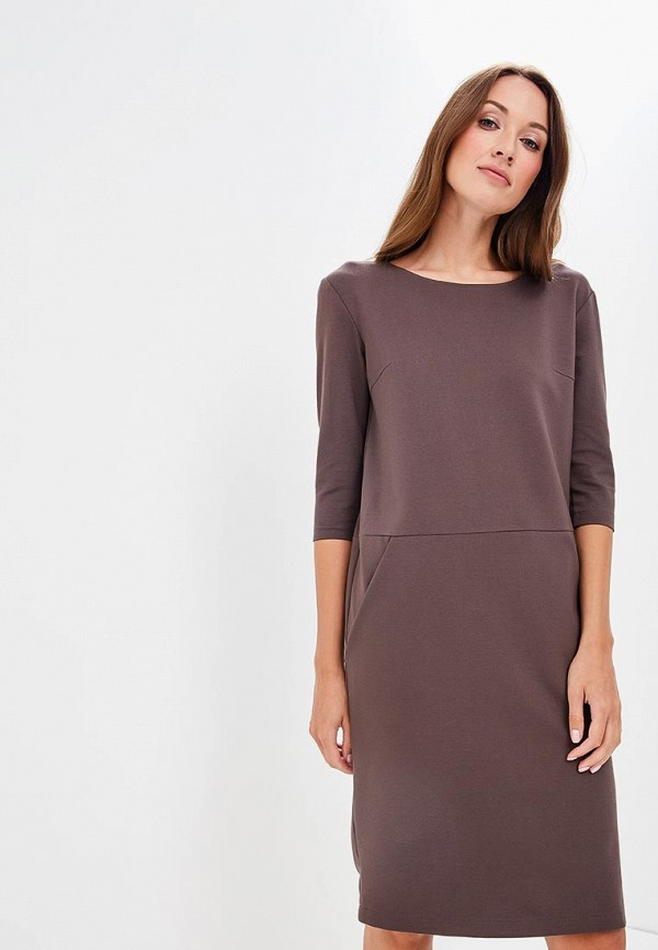 Купить Платье Olga Skazkina, MP002XW19GBX, серый, Осень-зима 2018/2019