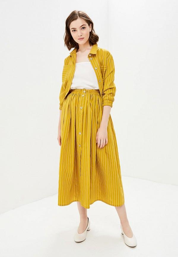 женский костюм lezzarine, желтый