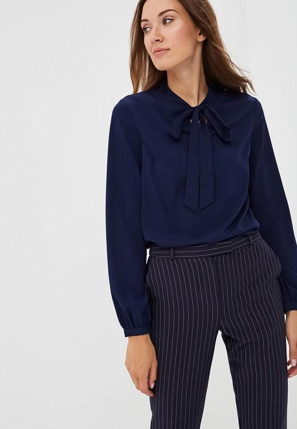 Купить Блуза Incity, MP002XW19GSQ, синий, Осень-зима 2018/2019