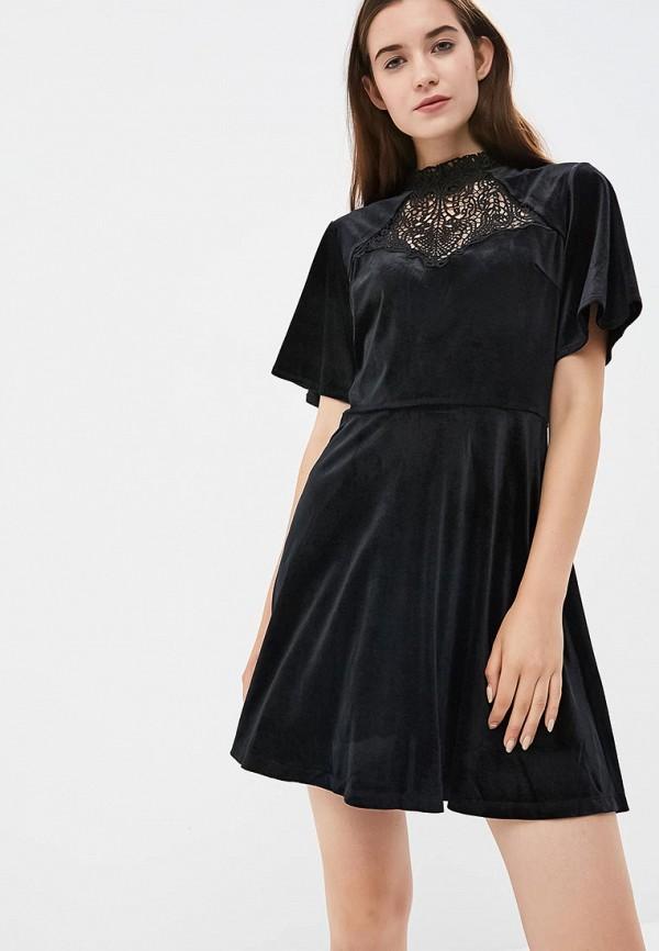 Купить Платье Incity, mp002xw19gst, черный, Осень-зима 2018/2019