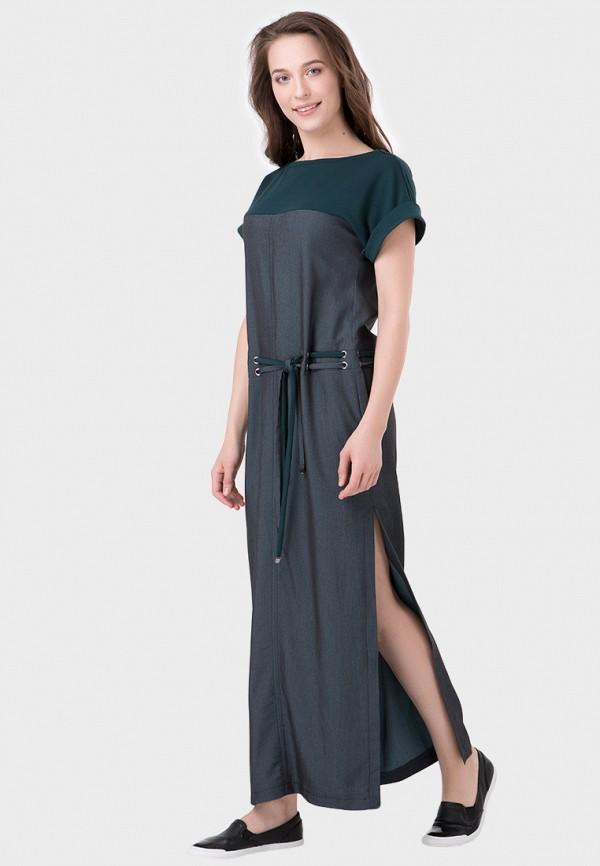 женское повседневные платье ricamare, зеленое