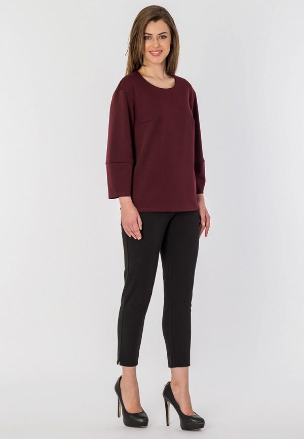 Фото 2 - Блузу S&A Style бордового цвета