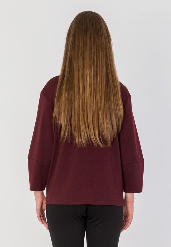 Фото 3 - Блузу S&A Style бордового цвета