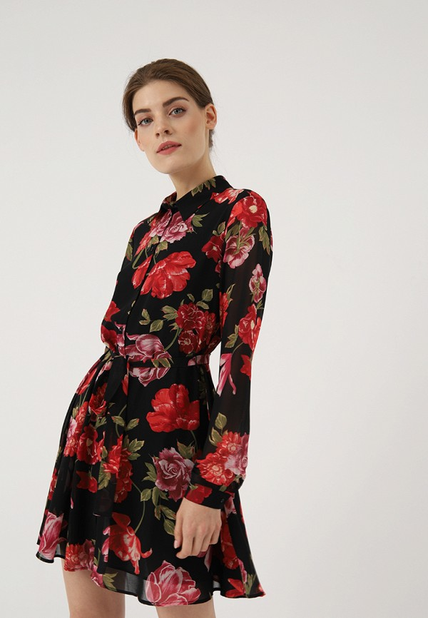 Купить Платье Lime, mp002xw19hfr, черный, Осень-зима 2018/2019