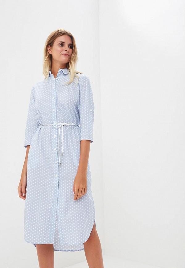Фото - Женское платье Gorchica голубого цвета