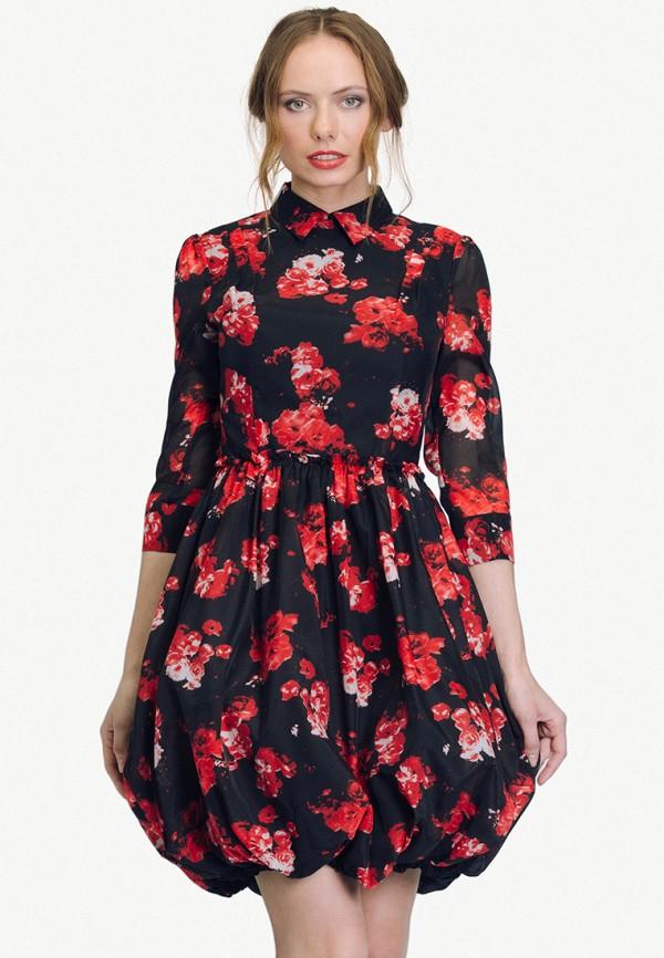 женское платье cavo, черное