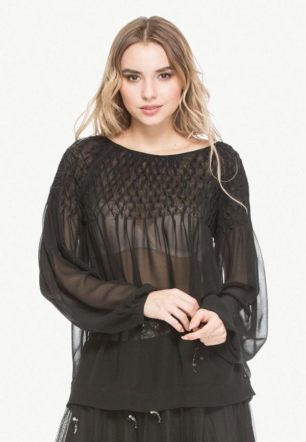 женская блузка cavo, черная