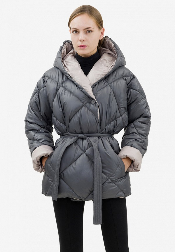 Купить Куртка утепленная Doctor E, mp002xw19i1h, серый, Осень-зима 2018/2019