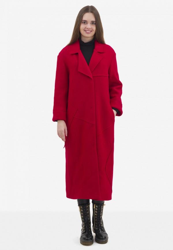 женское пальто pavel yerokin, красное