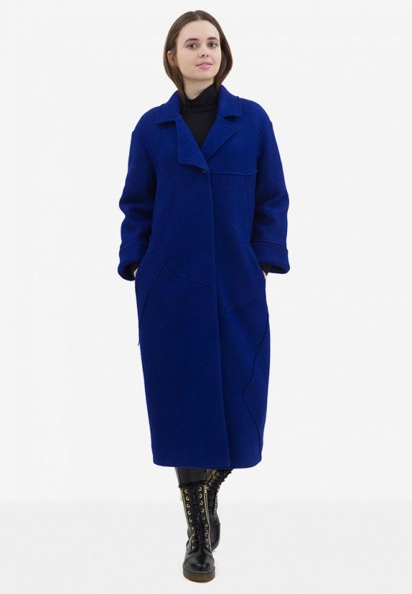 женское пальто pavel yerokin, синее