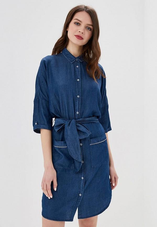 женское джинсовые платье top secret, синее