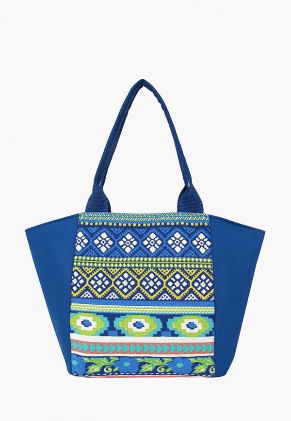 мужская сумка exodus, синяя