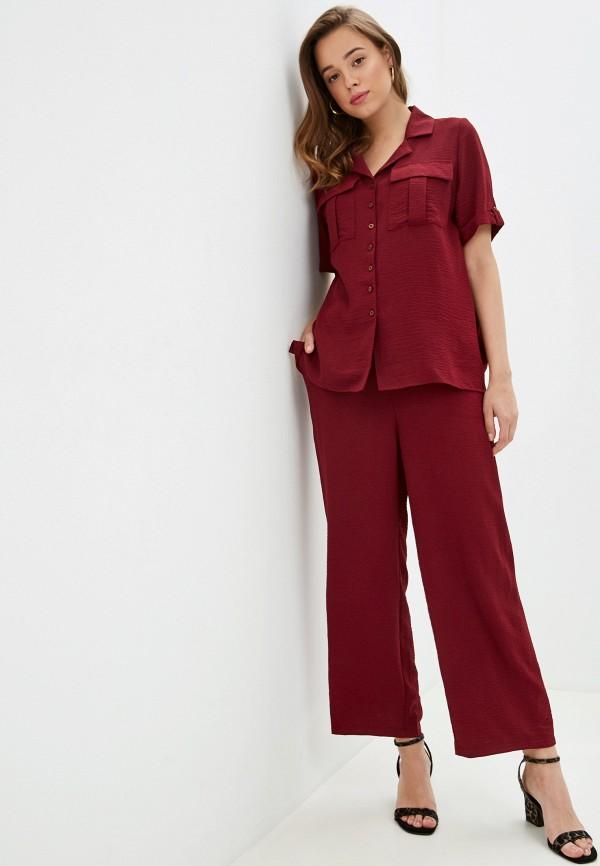 женский костюм avemod, бордовый