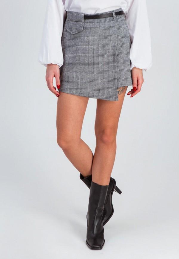 женская юбка karree, серая
