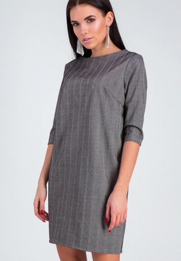 женское повседневные платье karree, серое
