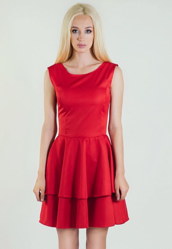 мужское платье мини подіум, красное