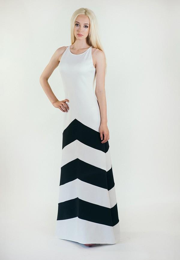мужское платье макси подіум, белое