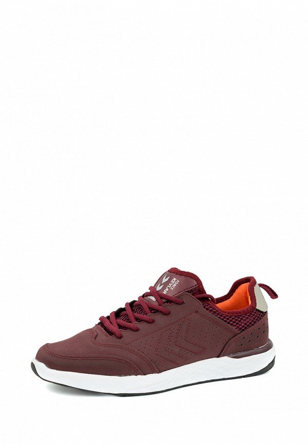 Фото 15 - женские кроссовки Hummel бордового цвета