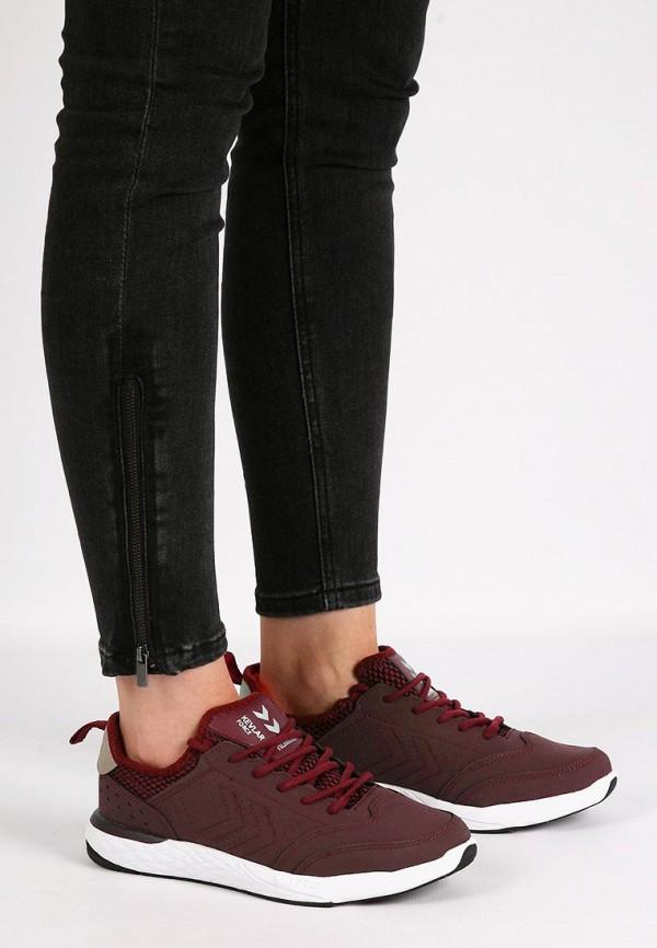 Фото 21 - женские кроссовки Hummel бордового цвета