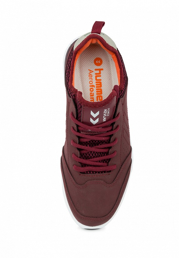 Фото 18 - женские кроссовки Hummel бордового цвета