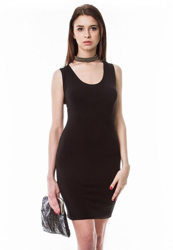 женское вечерние платье vergans, черное