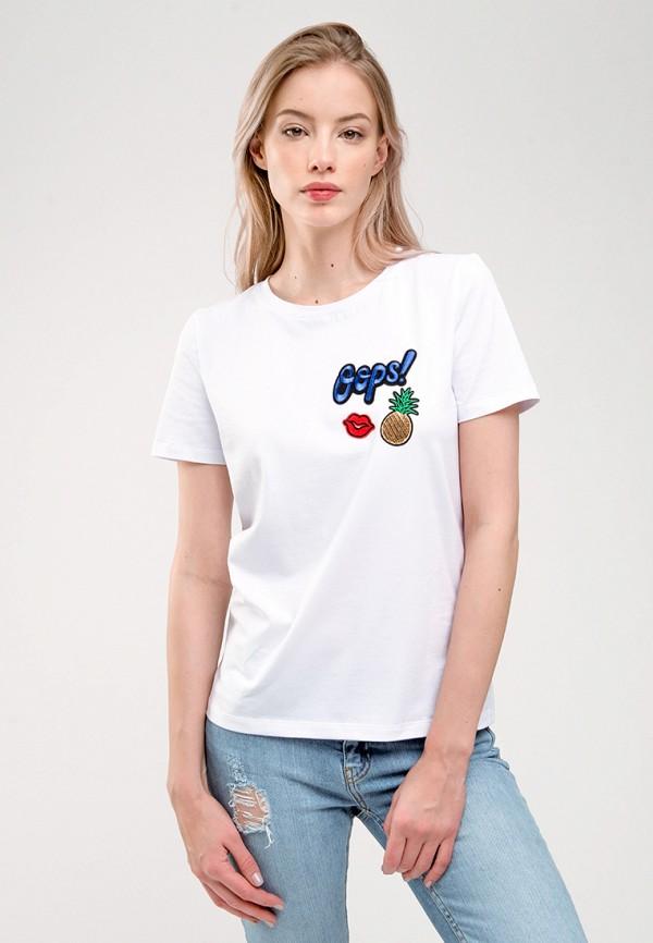 мужская футболка с коротким рукавом gee!, белая