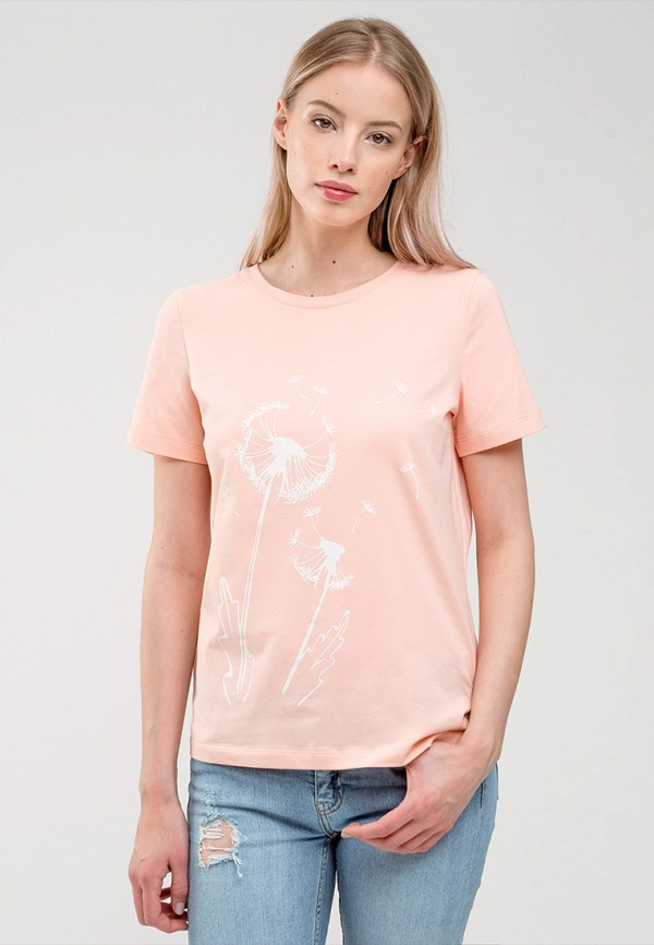 мужская футболка с коротким рукавом gee!, розовая